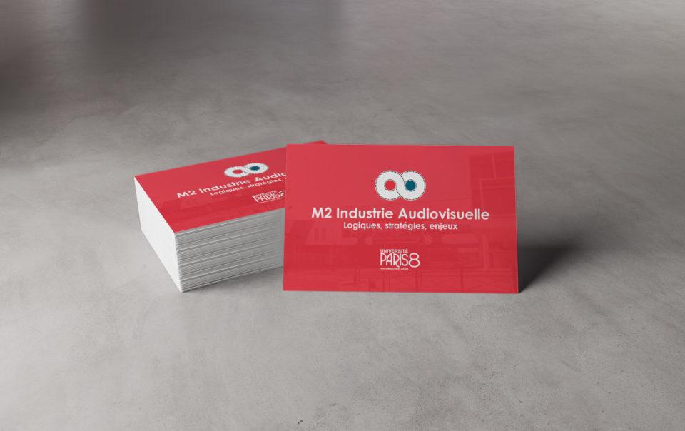 Cartes de visites M2 Audiovisuel